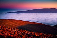 Mauna Kea Sunset, Big Island of Hawai'i.