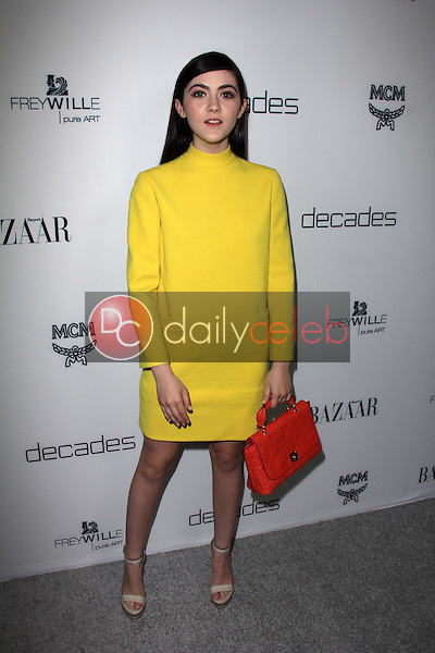Isabelle Fuhrman<br /> at Harper's Bazaar Celebrates The Launch Of The Dukes of Melrose, Sunset Tower, West Hollywood, CA 02-28-13<br /> David Edwards/DailyCeleb.com 818-249-4998