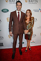 05 January 2019 - Los Angeles, California - Isla Fisher, Sacha Baron Cohen. the BAFTA Los Angeles Tea Party held at the Four Seasons Hotel Los Angeles.          <br /> CAP/ADM<br /> ©ADM/Capital Pictures