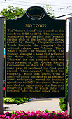 Sign on the exterior of the Motown Museum at 2648 West Grand Boulevard in Detroit, Michigan on Saturday, June 29, 2018.<br /> Credit: Ron Sachs / CNP