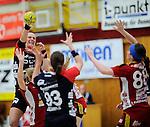 Bensheim, Germany, May 17: Match between HSG Bensheim/Auerbach and SG BBM Bietigheim in the HBF 1. Bundesliga Damen Saison 2013/2014  on  May 17, 2014 at Weststadthalle Bensheim in Bensheim, Germany. Final score 21:26 (11:16) (Photo by Dirk Markgraf / www.265-images.com) *** Local caption *** *** Local  caption ***