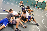 The Harker School - Summer Programs 2013 - Sports Camp  -Wrestling Camp held at the Blackford Campus - Photo by Kyle Cavallaro