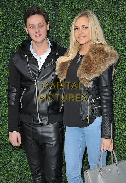 Tyger Drew-Honey &amp; Amy Seaton attend the &quot;Snoopy &amp; Charlie Brown: The Peanuts Movie 3D&quot; gala film screening, Vue West End cinema, Leicester Square, London, England, UK, on Saturday 28 November 2015.<br /> CAP/CAN<br /> &copy;Can Nguyen/Capital Pictures