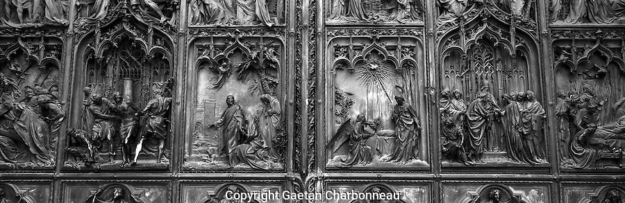 Milan Cathedral front door