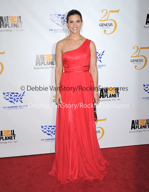 Lu Parker at The Humane Society of The United States celebration of The 25th Anniversary Genesis Awards in Beverly Hills, California on March 19,2011                                                                               © 2010 Hollywood Press Agency