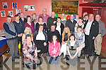 Happy Birthday - Jo Jo Daly from Abbeydorney, seated centre having a great time with friends and family at his 40th held in McElligot's Bar, Abbeydorney, on Friday night   Copyright Kerry's Eye 2008