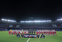 BARRANQUILLA, COLOMBIA - MARCH 04: General view of the stadium before the group A match of Copa CONMEBOL Libertadores between Junior and Flamengo at Estadio Metropolitano on March 4, 2020 in Barranquilla, Colombia. (Photo by Daniel Munoz/VIEW press via Getty Images)