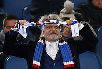 Calcio, Serie A: Lazio vs Sampdoria.Roma, stadio Olimpico, 5 gennaio 2015.<br /> Sampdoria's President Massimo Ferrero arrives for the Italian Serie A football match between Lazio and Sampdoria at Rome's Olympic stadium, 5 January 2015.<br /> UPDATE IMAGES PRESS/Riccardo De Luca