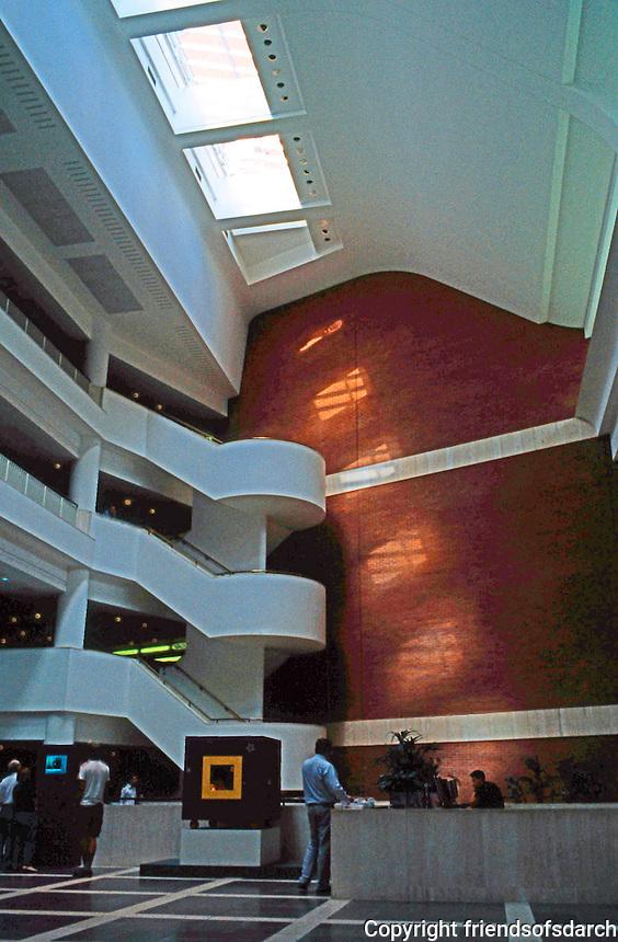 London: British Library--Interior.