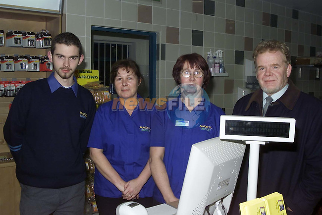 At your Service Simon Gregory, Brenda Cusack, Rosaleen Doran and Prop Brian Reynolds