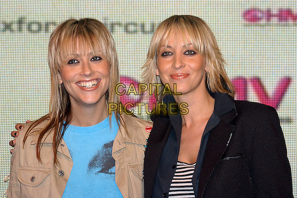 "APPLETON - NICOLE APPLETON & NATALIE APPLETON.attend signing of their new album ""Everything's Eventual"" at HMV Music Store.mullet.www.capitalpictures.com.sales@capitalpictures.com.© Capital Pictures"