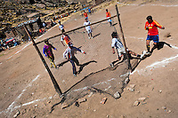 Indigenous football match (Puno, Peru)