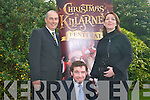 The final preparations are being put in place for Christmas in Killarney. The hard working committee have come up with a host of events and activities to celebrate the holidays in Killarney. .L-R Terence Mulcahy, Ailish Halissey and John Healy Joint Chairman of the Christmas in Killarney Committee