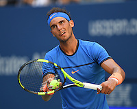FLUSHING NY- AUGUST 29: Rafael Nadal Vs Dennis Istomin on Arthur Ashe Stadium at the USTA Billie Jean King National Tennis Center on August 29, 2016 in Flushing Queens. Photo byMPI04 / MediaPunch