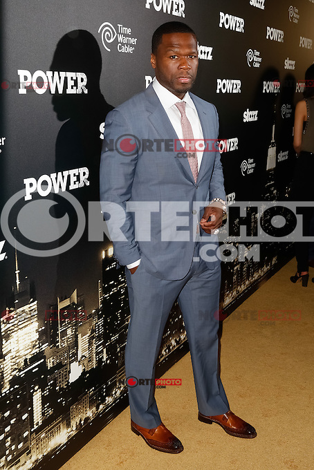 """New York, NY -  June 2 : Executive Producer Curtis """"50 Cent"""" Jackson attends the Power Premiere held at the Highline Ballroom on June 2, 2014 in New York City. Photo by Brent N. Clarke / Starlitepics"""