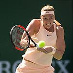 Petra Kvitova (CZE) defeats Yulia Putintseva (KAZ)