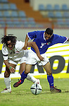 Kuwait vs Iraq during the Olympic Preliminary Qualifier Group C match on March 24, 2004  at the Peace and Friendship Stadium in Kuwait City, Kuwait. Photo by World Sport Group