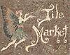 Custom retail signs - Tile Market sign