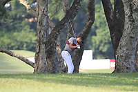 Julian Suri (USA) in the rough on the 14th during Round 4 of the UBS Hong Kong Open, at Hong Kong golf club, Fanling, Hong Kong. 26/11/2017<br /> Picture: Golffile | Thos Caffrey<br /> <br /> <br /> All photo usage must carry mandatory copyright credit     (&copy; Golffile | Thos Caffrey)