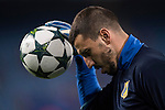 Goalkeeper Soslan Dzhanaev of FC Rostov in training prior to the 2016-17 UEFA Champions League match between Atletico Madrid and FC Rostov at the Vicente Calderon Stadium on 01 November 2016 in Madrid, Spain. Photo by Diego Gonzalez Souto / Power Sport Images