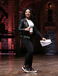 """Jennie Harney performs at The Rockefeller Foundation and The Gilder Lehrman Institute of American History sponsored High School student #EduHam matinee performance of """"Hamilton"""" at the Richard Rodgers Theatre on June 6, 2018 in New York City."""
