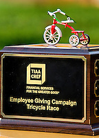 TIAA- CREF Employee Giving Trike Race, held at the the Charlotte, North Carolina office, Friday October 26th, 2012...Photo by: Patrick SchneiderPhoto.com