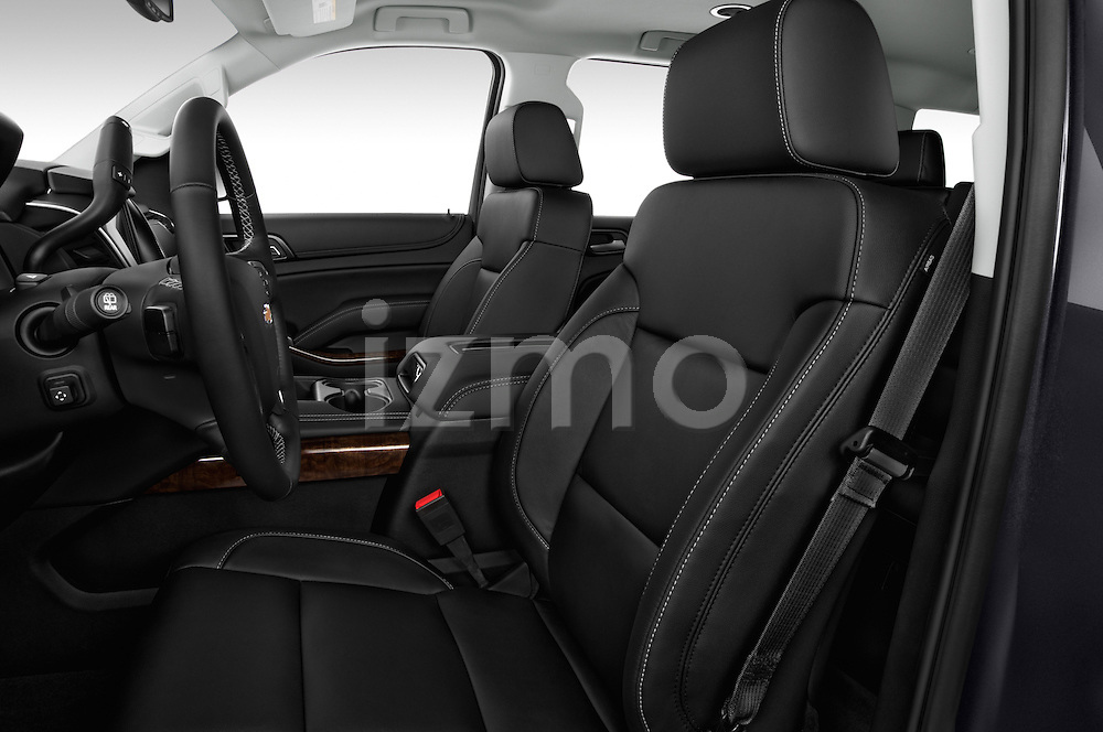 Front seat view of a 2015 Chevrolet Suburban 2WD 1500 LT 5 Door SUV