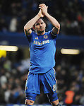 Frank Lampard of Chelsea in action during the Barclays Premiere League match between Chelsea and West Ham United at Stamford Bridge on Sunday March 17, 2013 in London, England Picture Zed Jameson/pixel 8000 ltd.