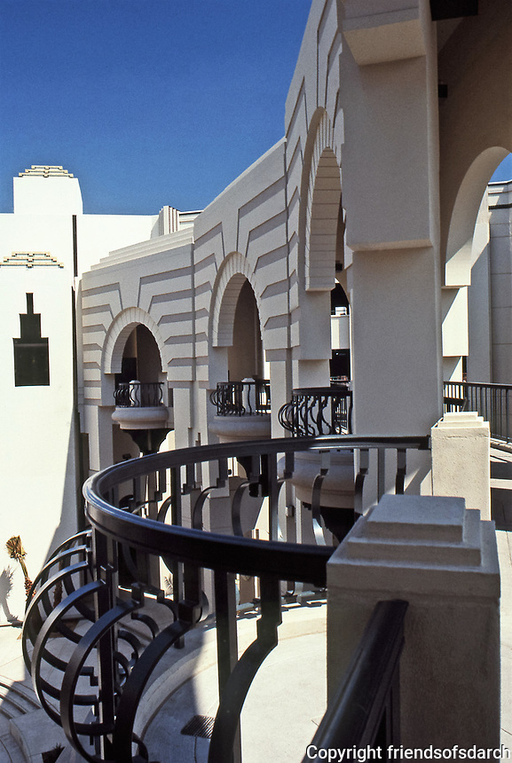 Charles Moore:  Beverly Hills Civic Center. A mix of Art Deco, Spanish Revival, and Post-Modern. July 1991.