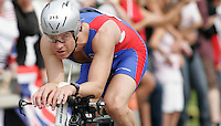 15 JUL 2007 - LORIENT, FRA - Stuart Anderson - World Long Distance Age Group Triathlon Championships. (PHOTO (C) NIGEL FARROW)