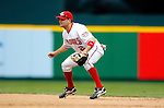 15 May 2005: Jamey Carroll, utility infielder for the Washington Nationals, on the field against the Chicago Cubs, as the Nationals defeat the visiting Cubs 5-4, to take the 3-game series three games to two, at RFK Stadium in Washington, DC.  Mandatory Photo Credit: Ed Wolfstein