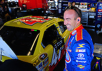 Feb 07, 2009; Daytona Beach, FL, USA; NASCAR Sprint Cup Series driver Marcos Ambrose during practice for the Daytona 500 at Daytona International Speedway. Mandatory Credit: Mark J. Rebilas-