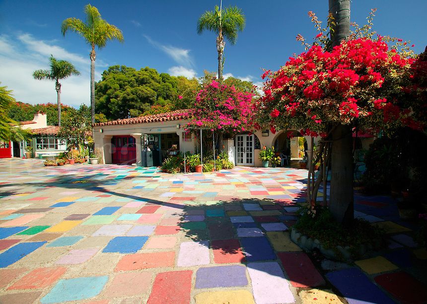The Spanish Village Art Center, Balboa Park, San Diego, California