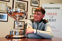 Robert Brazill (Naas) winner of the 2018 West of Ireland, and current Bridgestone order of Merit leader, in Co Sligo Golf Club, Rosses Point, Sligo, Co Sligo, Ireland. 03/04/2018.<br /> Picture: Golffile | Fran Caffrey<br /> <br /> <br /> All photo usage must carry mandatory copyright credit (&copy; Golffile | Fran Caffrey)