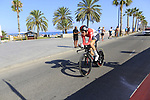 Jelle Wallays (BEL) Lotto-Soudal during Stage 1 of the La Vuelta 2018, an individual time trial of 8km running around Malaga city centre, Spain. 25th August 2018.<br /> Picture: Eoin Clarke | Cyclefile<br /> <br /> <br /> All photos usage must carry mandatory copyright credit (&copy; Cyclefile | Eoin Clarke)