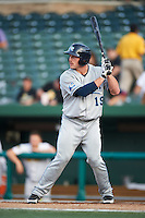 West Michigan Whitecaps third baseman Jason King #19 during a Midwest League game against the South Bend Silver Hawks at Coveleski Stadium on August 15, 2012 in South Bend, Indiana.  West Michigan defeated South bend 7-1.  (Mike Janes/Four Seam Images)