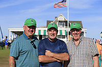 Irish fans enjoy the action during Saturday's Round 3 of the 118th U.S. Open Championship 2018, held at Shinnecock Hills Club, Southampton, New Jersey, USA. 16th June 2018.<br /> Picture: Eoin Clarke | Golffile<br /> <br /> <br /> All photos usage must carry mandatory copyright credit (&copy; Golffile | Eoin Clarke)