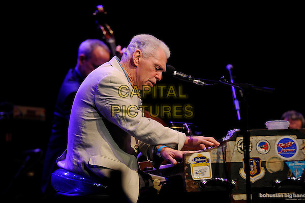 LONDON, ENGLAND - OCTOBER 29: Georgie Fame performing at the Royal Albert Hall on October 29, 2014 in London, England.<br /> CAP/MAR<br /> &copy; Martin Harris/Capital Pictures