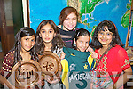 Pictured at the Presentation Primary School International Day last Friday were l-r: Mariaum Haroom, Laraib Chowdhry, Sheema Gohan, Guloona Tahir, Zara Riaz.