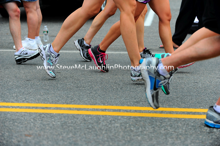 2011 New Balance Falmouth Road Race - Mile 5.5 for the Dana Farber Cancer Institute and the Jimmy Fund