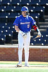WINSTON-SALEM, NC - MARCH 04: UMass Lowell's Steve Passatempo. The Wake Forest University Demon Deacons hosted the UMass Lowell River Hawks on March 4, 2018, at David F. Couch Ballpark in Winston-Salem, NC in a Division I College Baseball game. Wake Forest won the game 14-7.