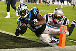 November 19, 2013: XXX during game action at Bank of America Stadium in Charlotte, NC. The Panthers win 24-20 over the Patriots.