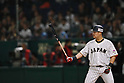 Yoshitomo Tsutsugo (JPN), <br /> MARCH 14, 2017 - WBC : 2017 World Baseball Classic Second Round Pool E Game between Japan 8-5 Cuba at Tokyo Dome in Tokyo, Japan. <br /> (Photo by Sho Tamura/AFLO SPORT)