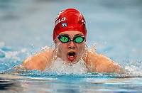 Jesse Reynolds in action (100m breast) during the Swimming New Zealand Short Course Championships,Owen G Glenn National Aquatic Centre, Auckland, New Zealand, Tuesday 3 October 2017. Photo: Simon Watts/www.bwmedia.co.nz