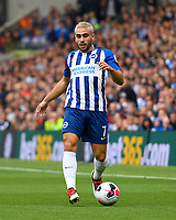 Neal Maupay of Brighton and Hove Albion during Brighton & Hove Albion vs Tottenham Hotspur, Premier League Football at the American Express Community Stadium on 5th October 2019