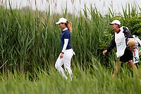Xiyu Lin (China) walks the third hole during the final round of the ShopRite LPGA Classic presented by Acer, Seaview Bay Club, Galloway, New Jersey, USA. 6/10/18.<br /> Picture: Golffile   Brian Spurlock<br /> <br /> <br /> All photo usage must carry mandatory copyright credit (&copy; Golffile   Brian Spurlock)