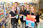 Staff at CH chemist, Tralee from left Helina Sankar, Peter Harty, Sarah Nelan, Gillian McNamara and Christine O'ConnorStaff at CH chemist, Tralee who will be offering the Flu Vaccine next week, from left: Helina Sankar, Peter Harty, Sarah Nelan, Gillian McNamara and Christine O'Connor.