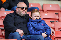 Blackpool fans take their seats before the match<br /> <br /> Photographer Alex Dodd/CameraSport<br /> <br /> The EFL Sky Bet League One - Barnsley v Blackpool - Saturday 27th April 2019 - Oakwell - Barnsley<br /> <br /> World Copyright © 2019 CameraSport. All rights reserved. 43 Linden Ave. Countesthorpe. Leicester. England. LE8 5PG - Tel: +44 (0) 116 277 4147 - admin@camerasport.com - www.camerasport.com
