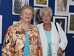 Ann Molloy and Olive Hanratty pictured at Bellewstown Heritage Group's exhibition in Bellewstown parish hall. Photo:Colin Bell/pressphotos.ie