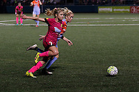 Rochester, NY - Saturday Aug. 27, 2016: McCall Zerboni during a regular season National Women's Soccer League (NWSL) match between the Western New York Flash and the Houston Dash at Rochester Rhinos Stadium.